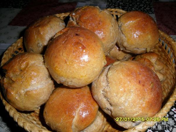 Булочки с луком и чесноком рецепт