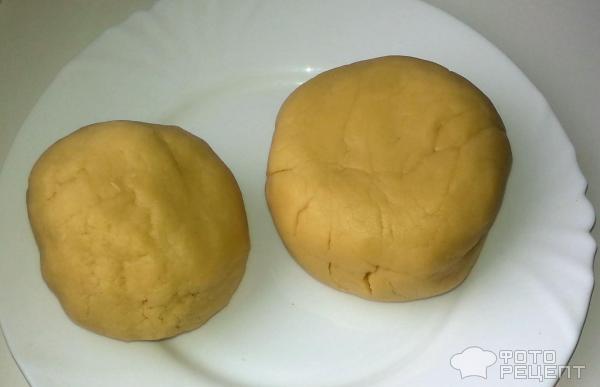 Рецепт: Песочный пирог с вареньем - с абрикосовым вареньем