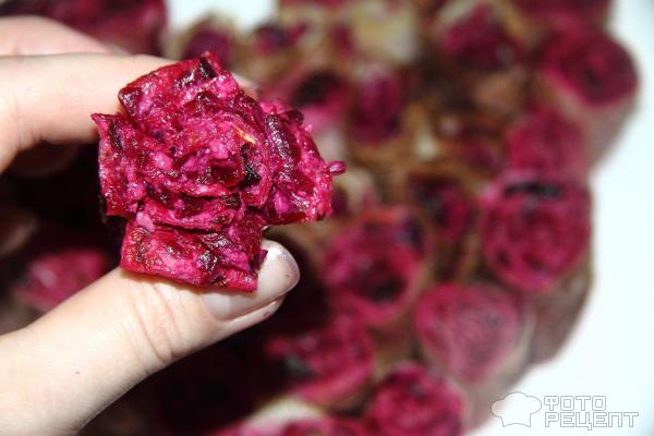 Цветущее сердце - легкая закуска ко Дню Святого Валентина фото