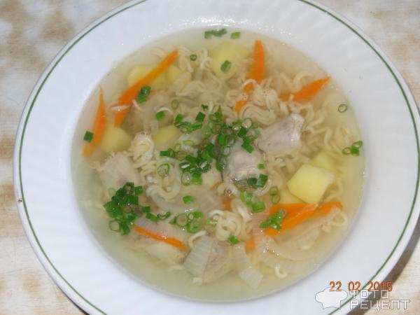 Суп из куриных шеек с вермишелью рецепт пошагово
