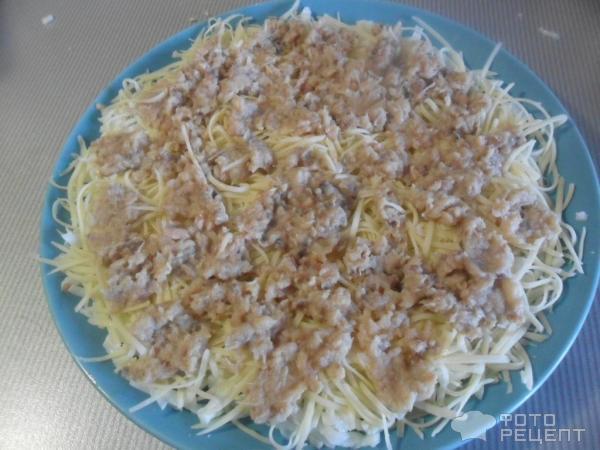 Салат мимоза рецепт с консервой сливочное масло