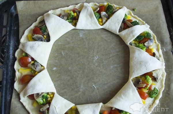 Пицца камуфляжная фото