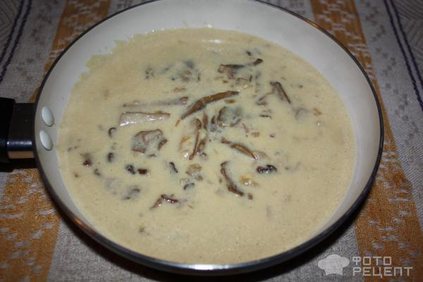 Подлива из сушеных грибов рецепты с фото