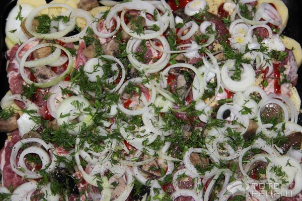 Блюдо дипломат рецепт с фото