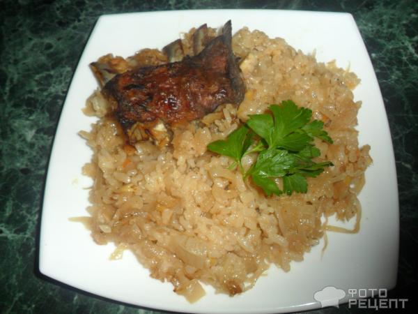 Квашеная капуста с рисом