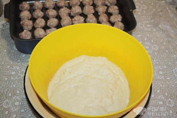 Тесто для заливного пирога на дрожжах
