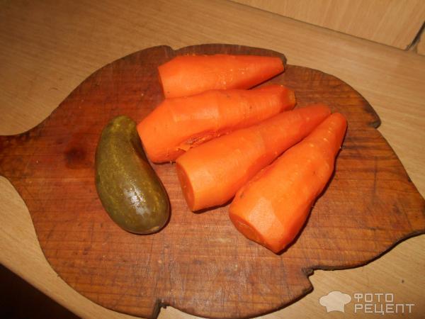 Салат морковный фото