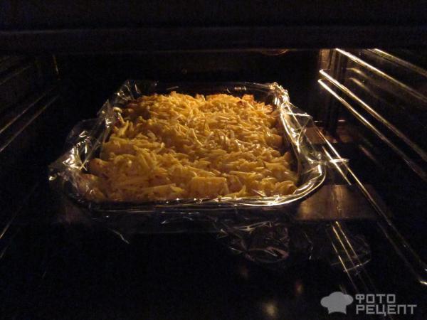 Картофель с куриным филе, запеченный в духовке фото