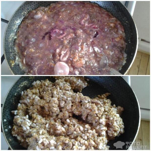 Рецепт карасей с рисом в духовке
