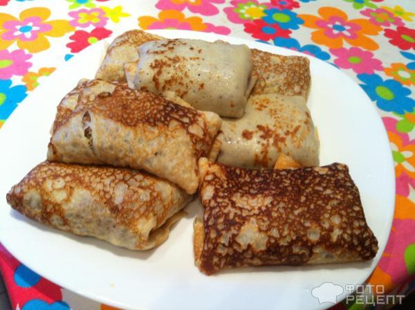 Блины тонкие для начинки рецепт с пошагово