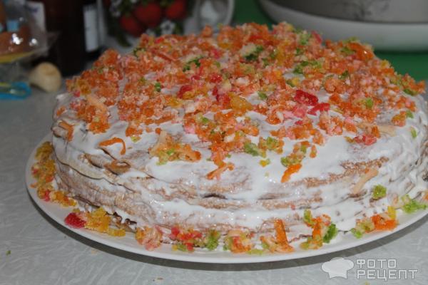 Украшение тортов мармеладом фото