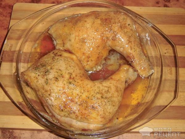 курица запеченая в медк видео