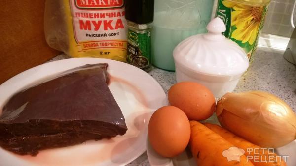 Печёночные оладьи на молоке рецепт