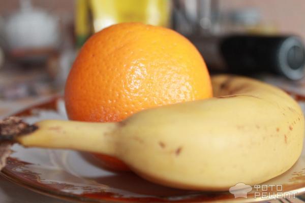 Желе с фруктами, фото