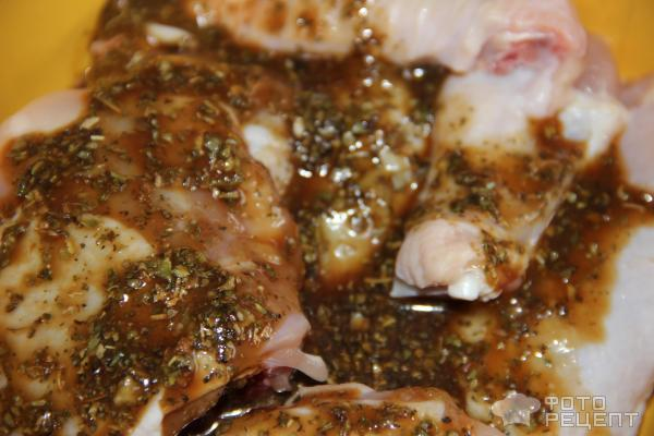 Курица в медово-соевом соусе в духовке целиком рецепт
