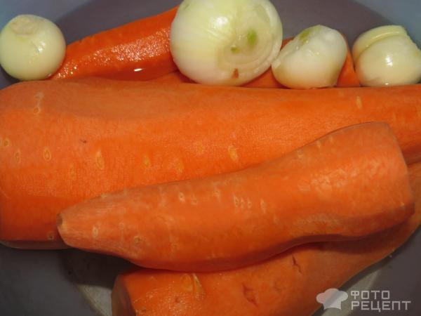 Салат из куриной печени фото