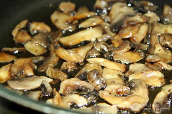 Рецепт: Слоеный пирог Перевертыш - с фаршем и овощами