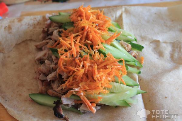 Рецепт шаурмы с корейской морковью в домашних условиях рецепт