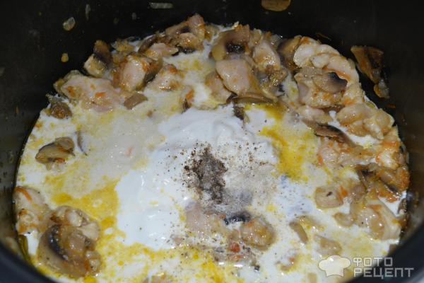 Рецепт куриного филе со сметаной на сковороде