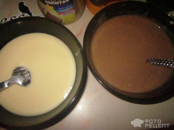 Пирог зебра рецепт с с глазурью рецепт с пошагово