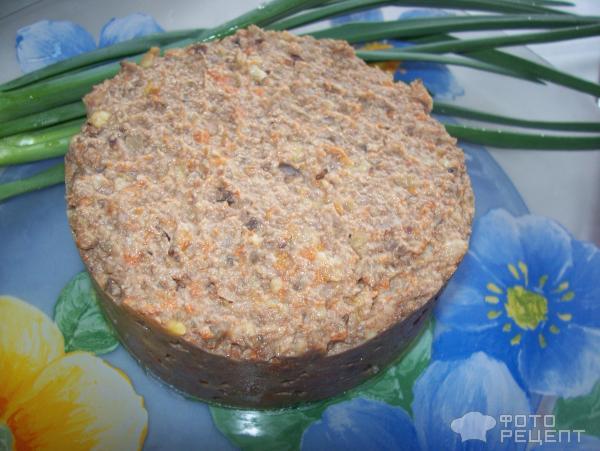 Как сделать печеночный паштет из свиной печени