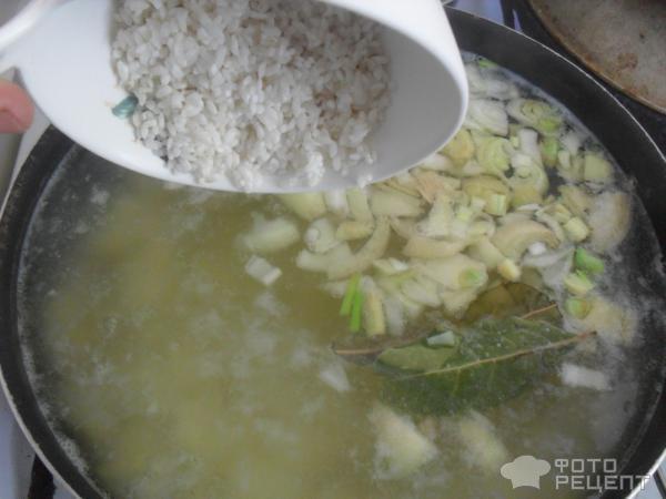 уха рецепт с фото пошагово с рисом