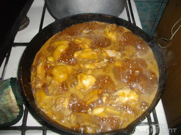 Рецепт курицы в соусе на сковороде рецепты
