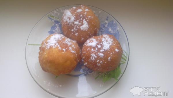 Быстрые пончики рецепт с пошагово