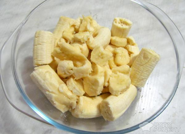 Банановый крем фото