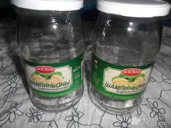 Маринованные шампиньоны рецепт за сутки