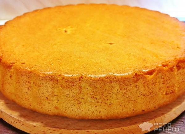 Торт бисквитный фото