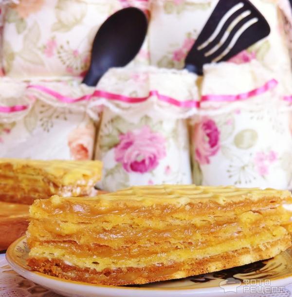 Торт вафельный фото