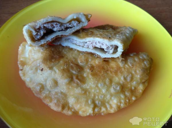 Чебуреки круглые с мясом рецепт на сковороде