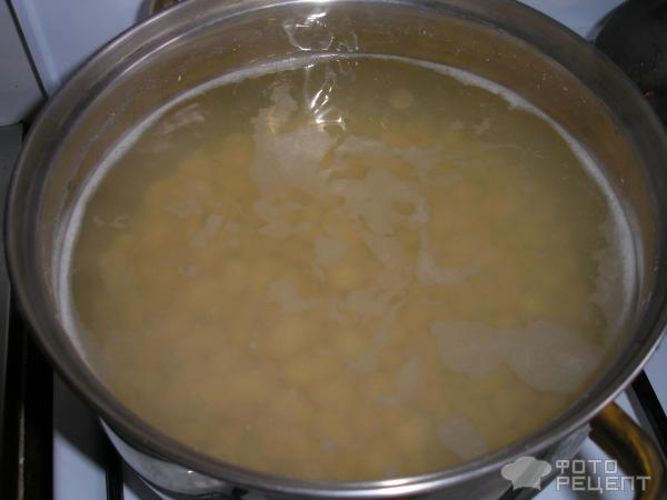 Борщ холодный с килькой и фасолью фото