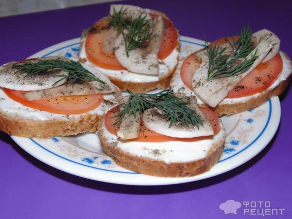 Бутерброды на праздничный стол с фото пошагового