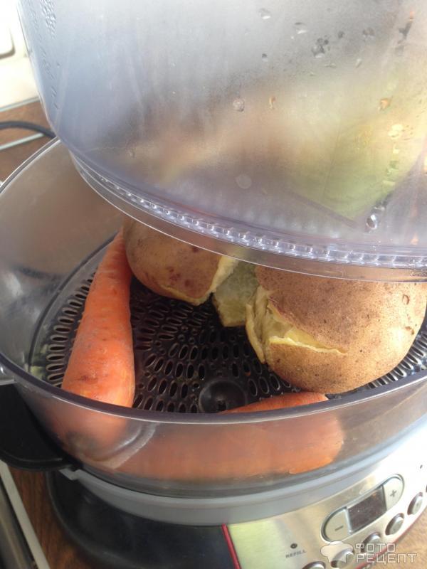 Рыба на пару с овощами в мультиварке рецепты
