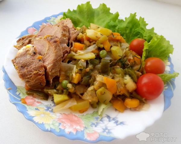 Рецепт из баклажанов и капусты