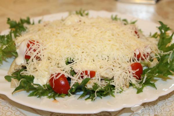 Салат цезарь рецепт с курицей и сухариками простой рецепт