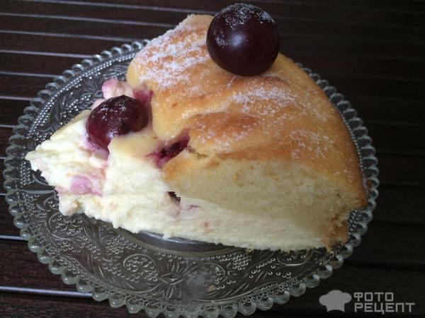 Пирог с свежей вишней рецепт