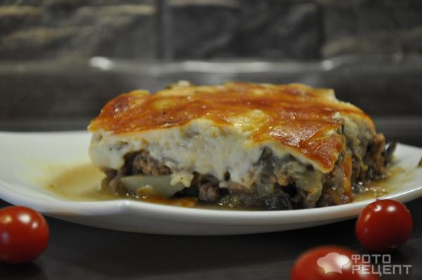 Мусака рецепт с баклажанами и картофелем в духовке рецепт пошаговый