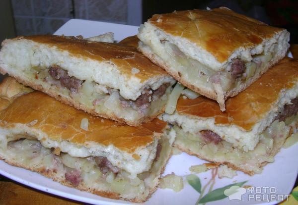 Пироги с мясом и грибамиы