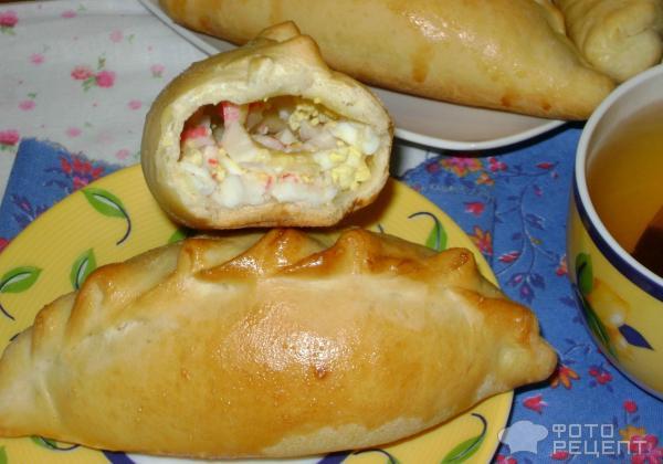 Пирожки с сыром из дрожжевого теста рецепты