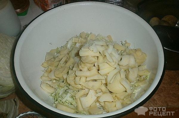 Винегрет со свежей капусты рецепт