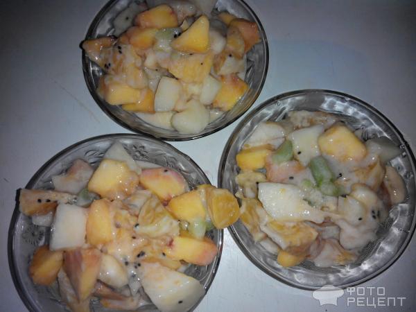 Фруктовый салат Фрэш фото