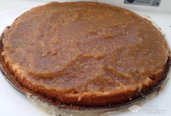 Бисквитный пирог с маргарином рецепт