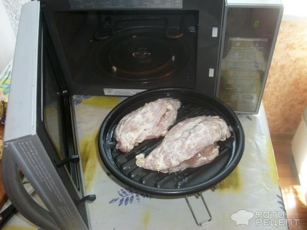 Куриные грудки в микроволновке – кулинарный рецепт