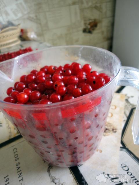 Как из красной смородины сделать желе