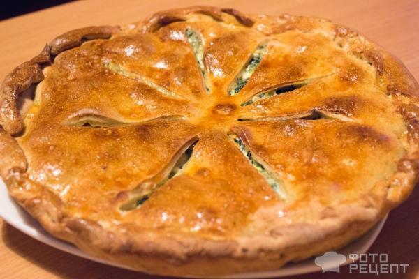 Пирог с семгой пошаговый рецепт
