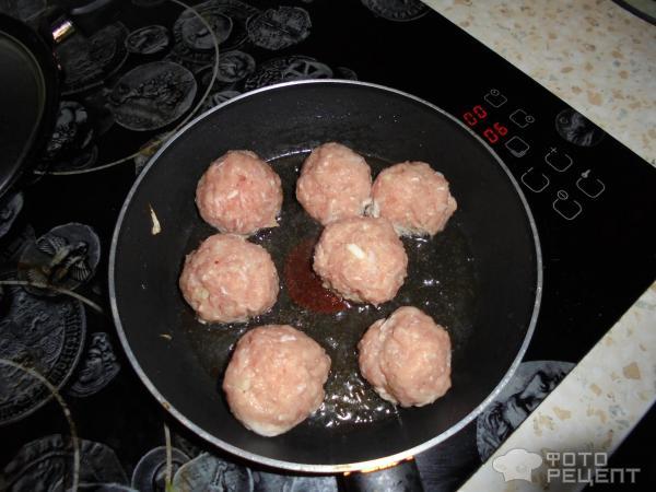 Фрикадельки с подливкой из индейки рецепт пошагово