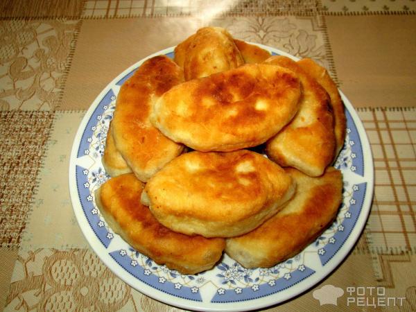 Пирожки жареные фото